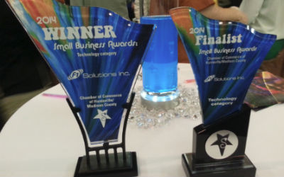 F1 Solutions Won 1st Place for the 2014 Small Business of the Year – Technology category